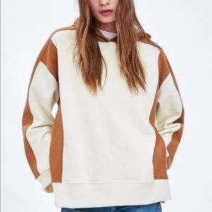 Zara Colorblock Sweatshirt